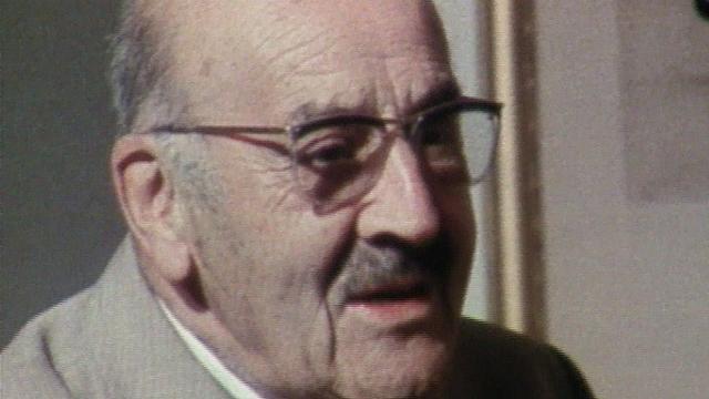 Le docteur Bezençon en 1981. [RTS]