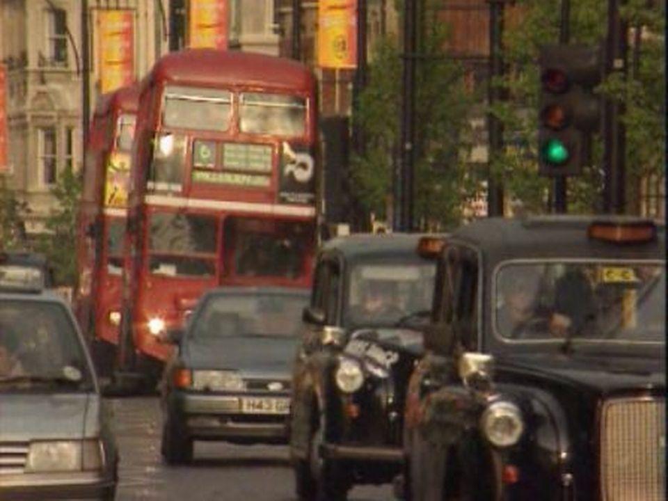 London Bus londonien [TSR, 04.03.98]
