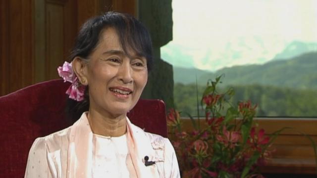 L'interview d'Aung Saan Suu Kyi en langue anglaise