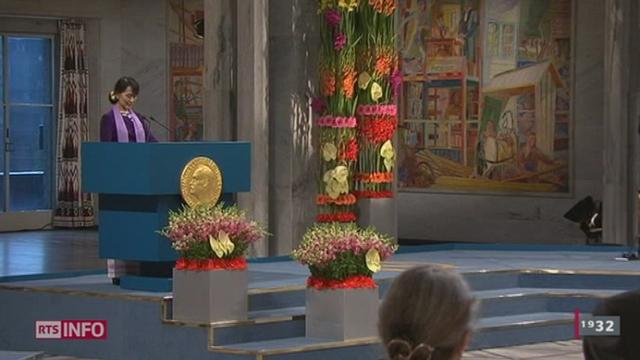 Aung San Suu Kyi est enfin venue recevoir son prix Nobel à Oslo