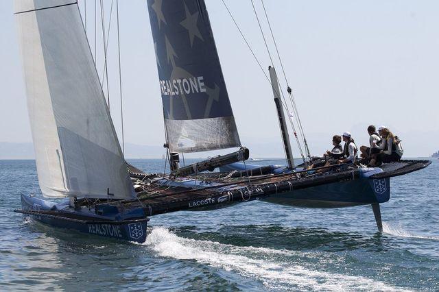Realstone Sailing a largement dominé la course. [Keystone]