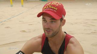 Objectif Londres: rencontre avec le Genevois Sébastien Chevallier, joueur de Beach Volley