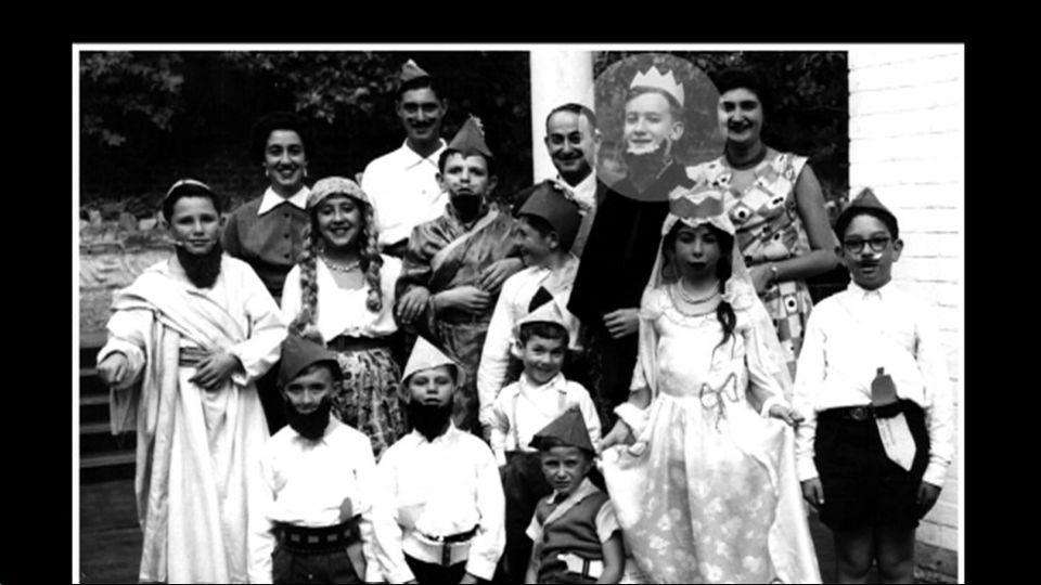 Enfance du père Cyril Axelrod