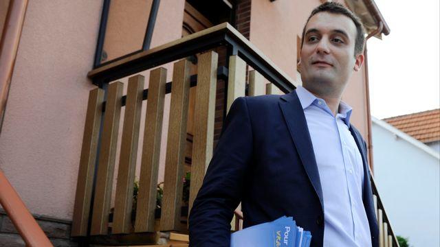 Le porte-parole du FN Florian Philippot s'est incliné dans la 6e circonscription de la Moselle face au candidat socialiste.  [Jean-Christophe Verhaegen - AFP]