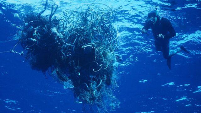 Plaque de déchets du Pacifique nord, vortex d'ordures, soupe plastique, voire septième ou huitième continent: les noms ne manquent pas pour évoquer cette immense zone océanique où s'agglutinent des tonnes et des tonnes de déchets. Ces détritus, en particulier les plastiques, se dégradent très lentement puis se retrouvent dans la chaîne alimentaire. De pareilles zones ont été détectées dans les océans Indien et Atlantique. [dr - RTS]