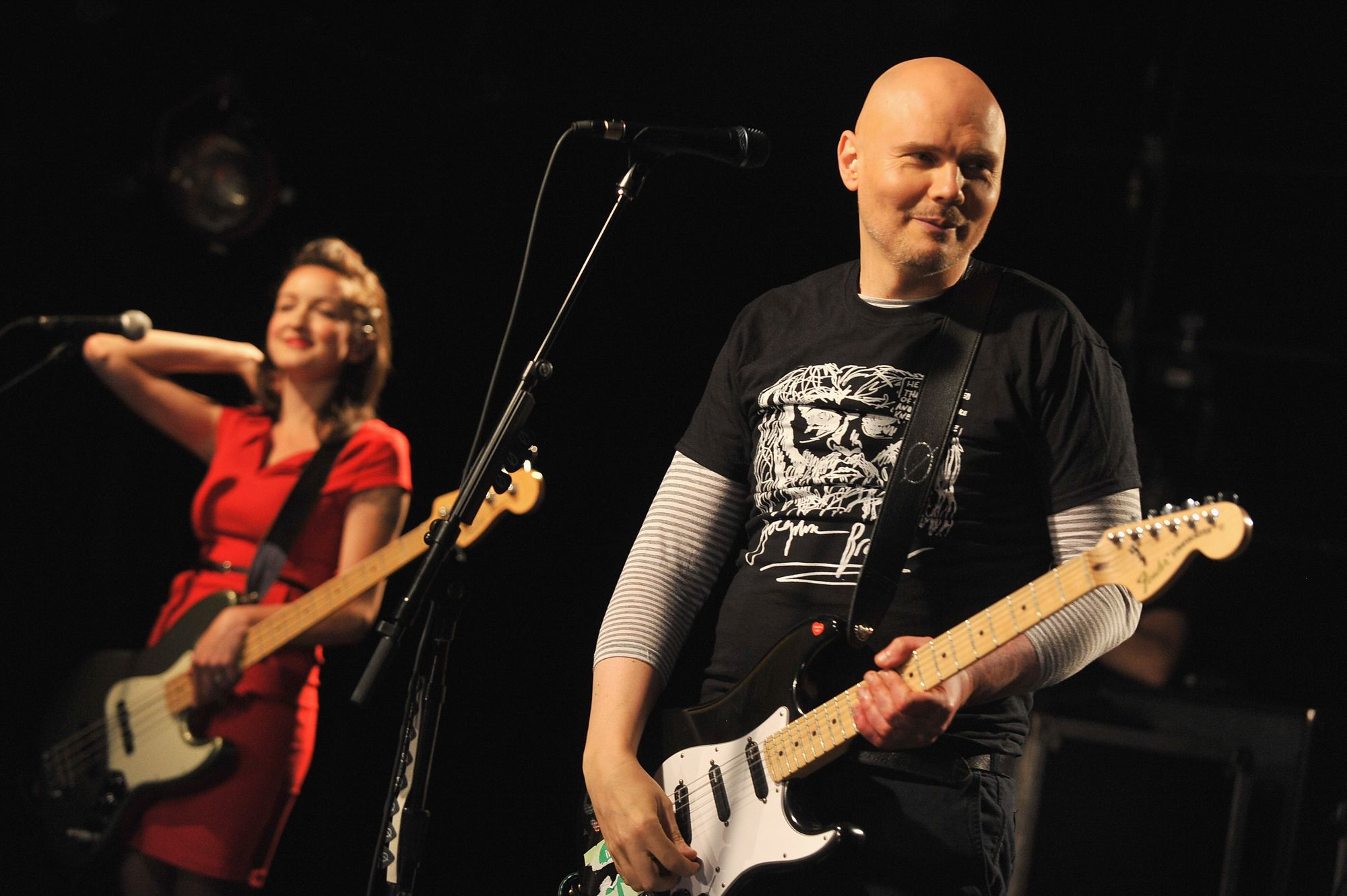 Les Smashing Pumpkins, version 2012, en pleine forme.