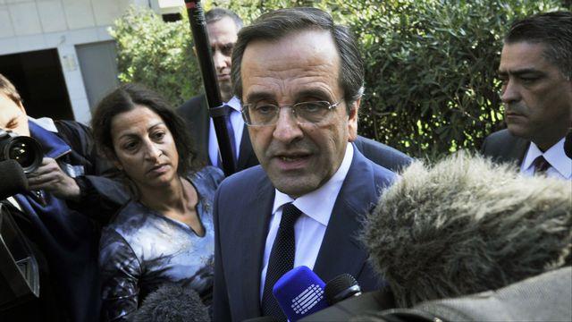 Antonis Samaras.  [ LOUISA GOULIAMAKI  - AFP]