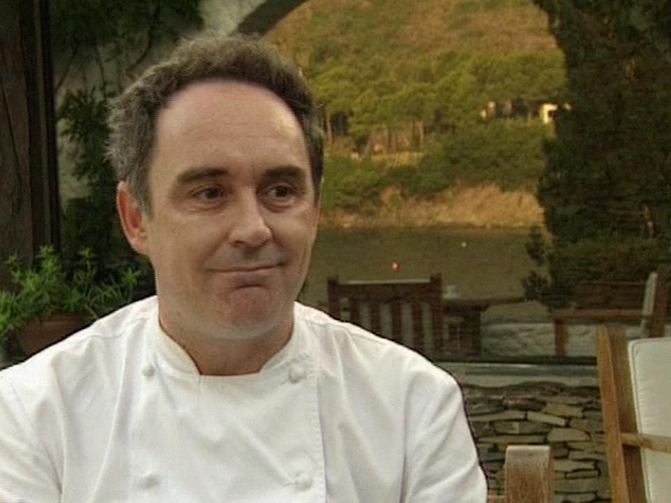 Le cuisinier Ferran Adria [TSR 2005]