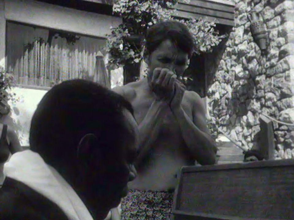 Jam Champion Jack Dupree avec Claude Nobs au MFJ 1970. [RTS]