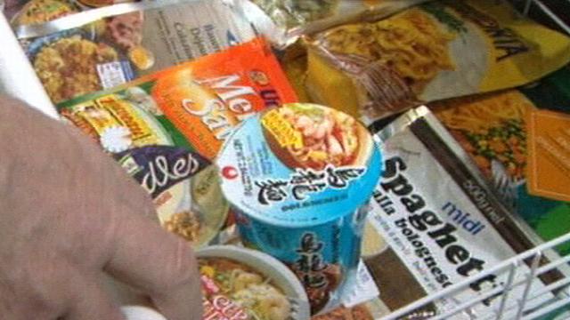 Les plats cuisinés [TSR 1998]