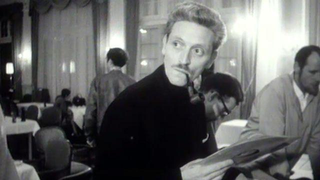 Bourse aux disques au Montreux Jazz Festival, 1968. [RTS]