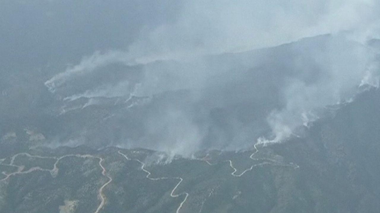 Séquences choisies - Le Colorado lutte contre le feu