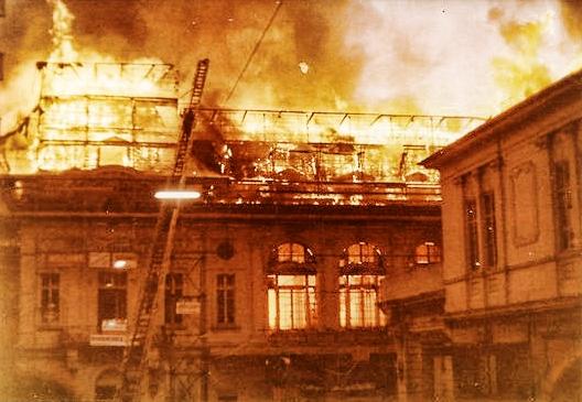 Montreux brûle-t-il?