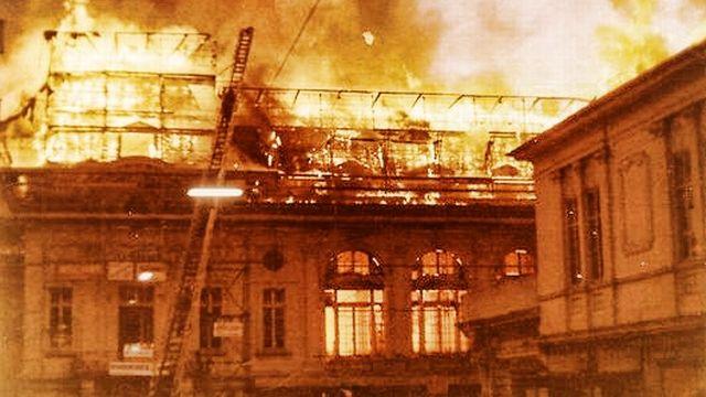 Incendie Casino [notrehistoire.ch, John Grandchamp, 1971]