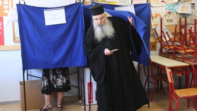 La société grecque serait influencée par l'orthodoxie... [Sakis Mitrolidis - AFP]