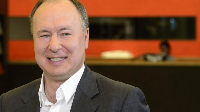 Pierre-Yves Maillard est désormais à la présidence du Conseil d'Etat vaudois. [Laurent Gilliéron - Keystone]