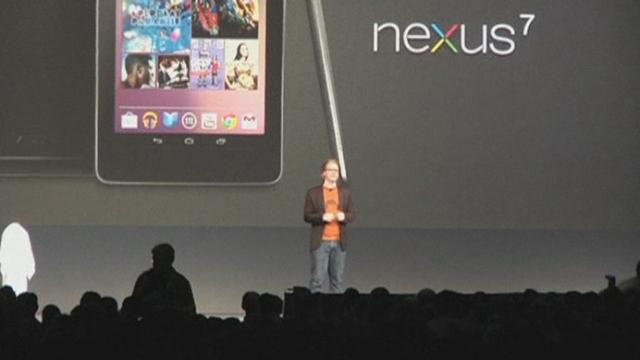 Google s'attaque au marché des tablettes avec Nexus 7