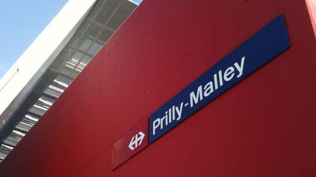 La gare Prilly-Malley, une gare du futur inaugurée le 29 juin 2012. [cff.ch]