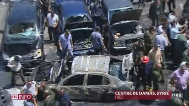 Syrie: les violences se poursuivent avec une nouvelle vague d'attentats qui ont frappé le pays jeudi