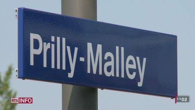 VD: la gare de Prilly-Malley, près de Lausanne, vient d'être inaugurée officiellement