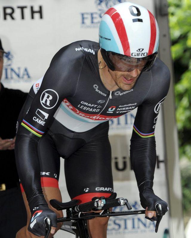 Fabian Cancellara ne participera pas à la cérémonie d'ouverture pour cause de course le lendemain.  [KARL MATHIS - Keystone]
