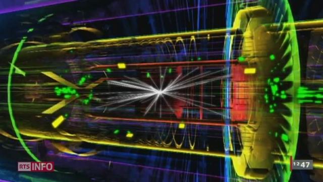 """Le CERN a annoncé ce mercredi la découverte d'une particule """"compatible"""" avec les caractéristiques du boson de Higgs"""