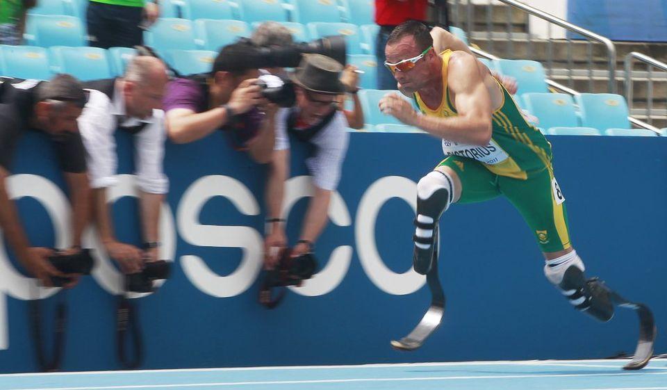 Pistorius enchaînera Jeux olympiques et paralympiques cet été. [DIEGO AZUBEL - Keystone]