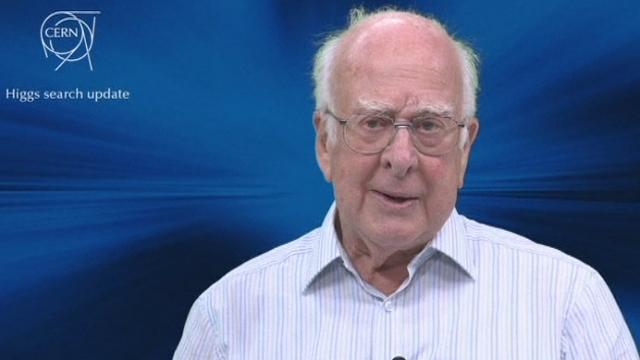 Découverte du CERN: la réaction de Peter Higgs