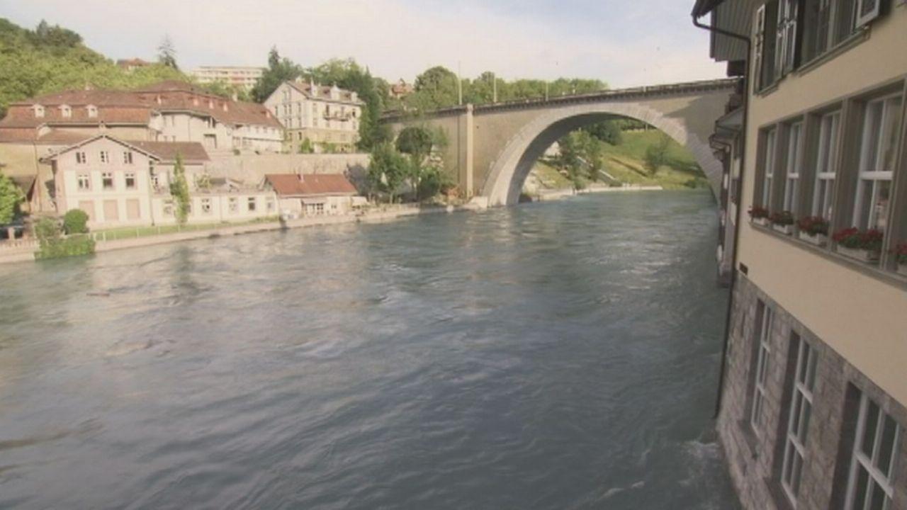 Séquences choisies - L'Aar menace la ville de Berne