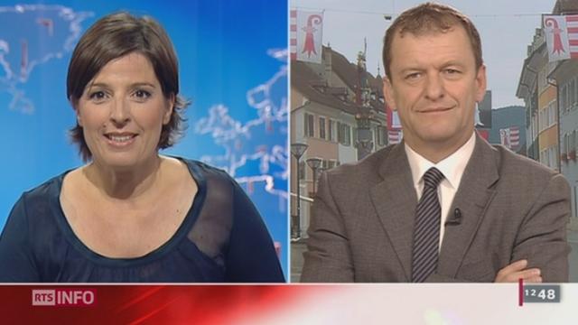 JU / Débat sur les éoliennes: entretien avec Michel Thentz, Ministre de la santé du canton, à Delémont