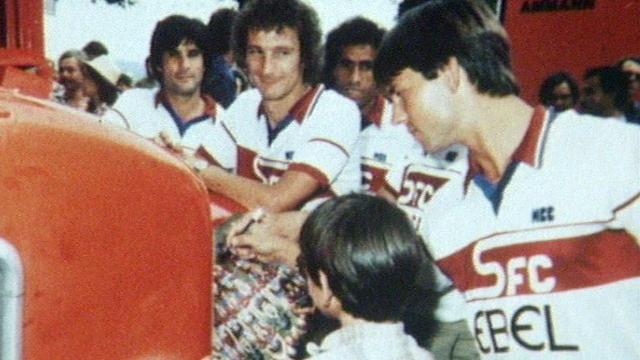 Footballeurs du Servette 1981