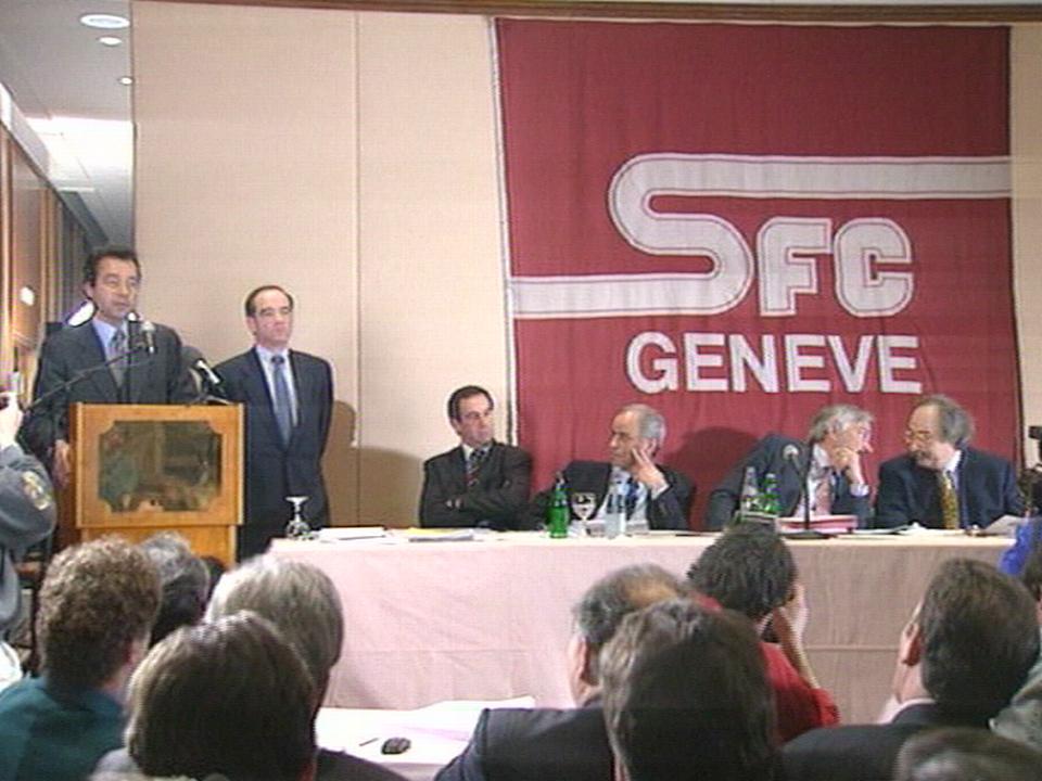 Rachat Servette par Canal+ 1997 [TSR archives]