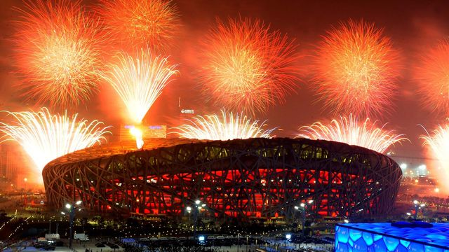 Pékin 2008: une cérémonie d'ouverture et des jeux flamboyants. [Xu Jiajun - XINHUA/AFP]