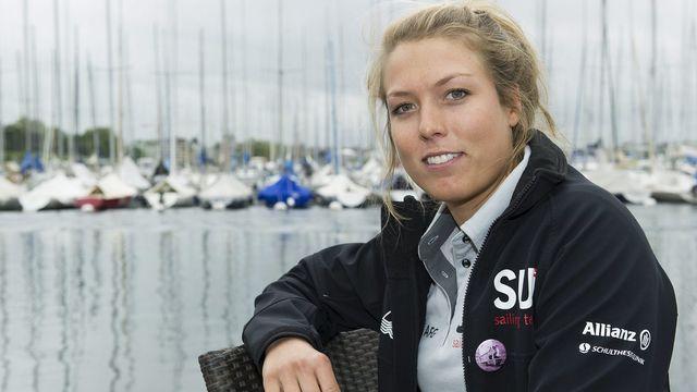 Nathalie Brugger compte cinq titres de championne de Suisse, en solitaire et en double, à son palmarès. [JEAN-CHRISTOPHE BOTT - Keystone]