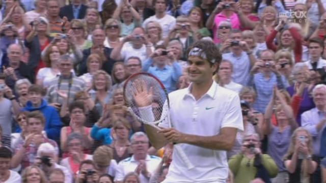 1/2, Federer - Djokovic. C'est fait! Roger Federer se qualifie pour la finale au terme d'un superbe match (6-3,3-6,6-4,6-3)!