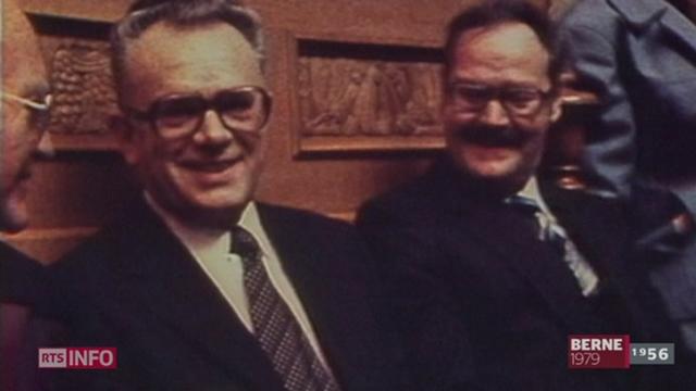 L'ancien Conseiller fédéral Leon Schlumpf est décédé ce samedi à l'hôpital de Coire (GR) à l'âge de 87 ans