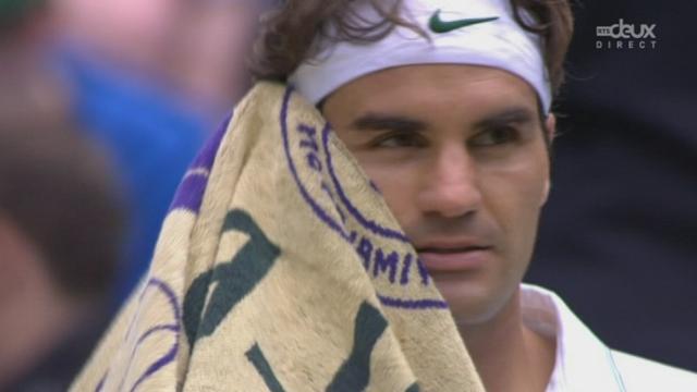 Finale: Federer s'impose avec brio 7-5 dans la deuxième manche