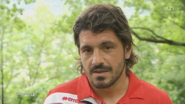 Football/reprise du championnat de Super League: les Valaisans du FC Sion et leur nouvelle recrue phare, l'Italien Gennaro Gattuso, comptent bien jouer les premiers rôles durant cette saison 2012-2013