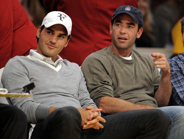 Federer égale les records de Sampras. [Mark J. Terrill - Keystone]