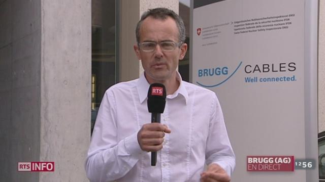 Sécurité nucléaire en Suisse: les précisions de Jean-Marc Heuberger à Brugg