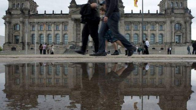 Le bâtiment du Reichstag, qui héberge le Bundestag, à Berlin. [AFP]