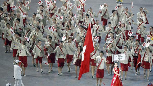 Avec 102 sportifs, la sélection suisse se déplacera en masse à Londres. [Keystone]