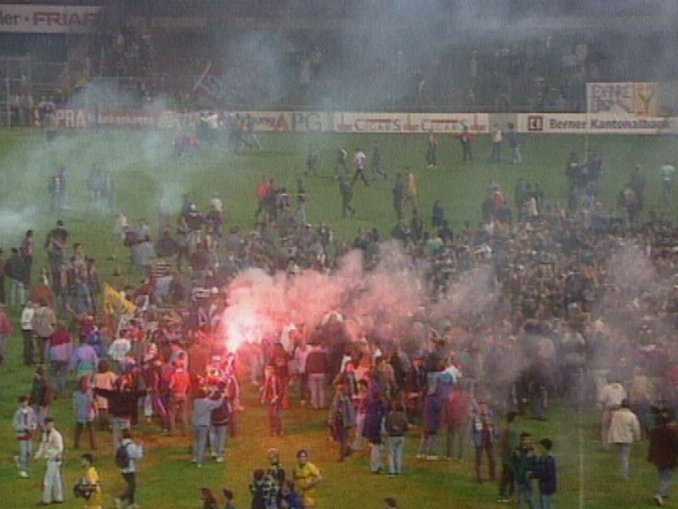 Servette Champion de Suisse 1994 [TSR Archives 1994]