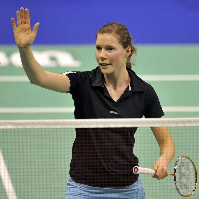 La Neuchâtelois est la 65e joueuse mondiale, elle est précédée de quatre places au classement par Jeanine Cicognini. [Georgios Kefalas - Keystone]