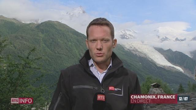 France/Avanlanche dans le Mont-Blanc: les précisions de Laurent Burkhalter