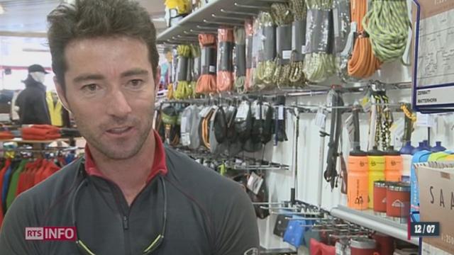 France/Avanlanche dans le Mont-Blanc: rencontre avec l'ami et le responsable d'un guide de Fiesch (VS) qui a été blessé dans l'accident