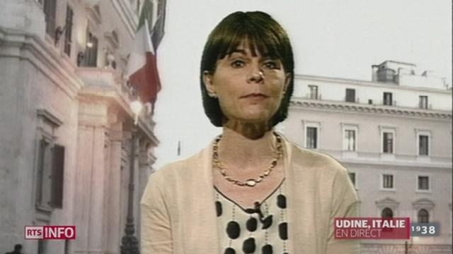 L'agence de notation Moody's abaisse la note de l'Italie de deux crans: les précisions de Valérie Dupont, à Udine