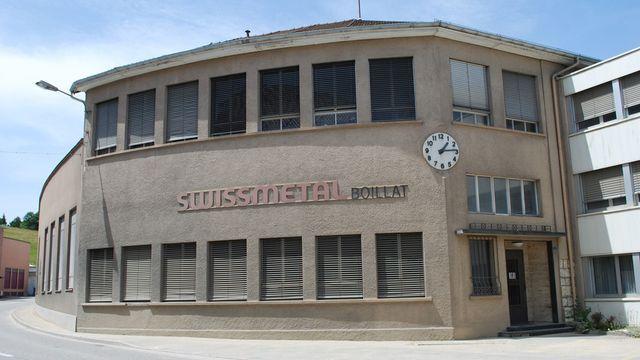 L'usine Swissmetal de Reconvilier. [Gaël Klein - RTS]