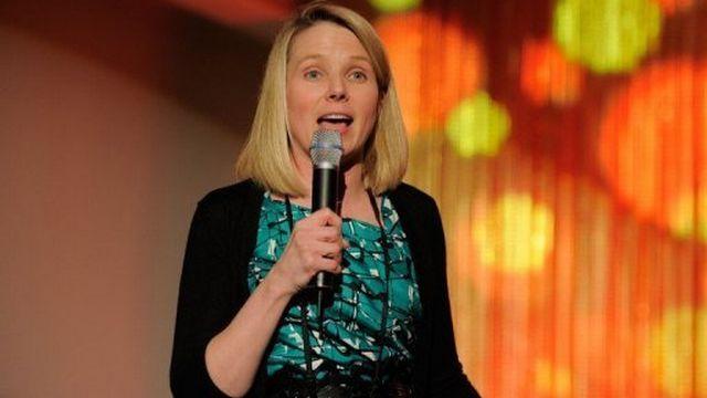Marissa Mayer, une des dirigeantes de Google nommée directrice générale de Yahoo!, le 24 mai 2011 à New York [AFP]