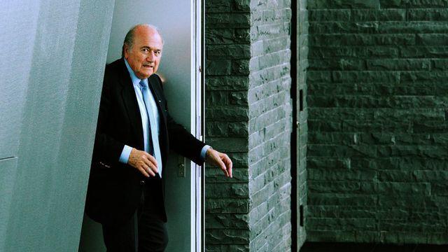 Sepp Blatter n'a pas annoncé les changements en profondeur attendus par beaucoup. [Steffen Schmidt - Keystone]